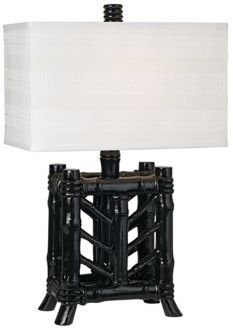 Rain Forest Bamboo Table Lamp - PacificCoastLighting.com