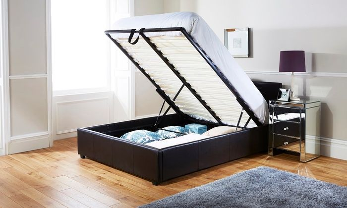 Stupendous Groupon Goods Global Gmbh Ottoman Storage Bed Frame From Onthecornerstone Fun Painted Chair Ideas Images Onthecornerstoneorg