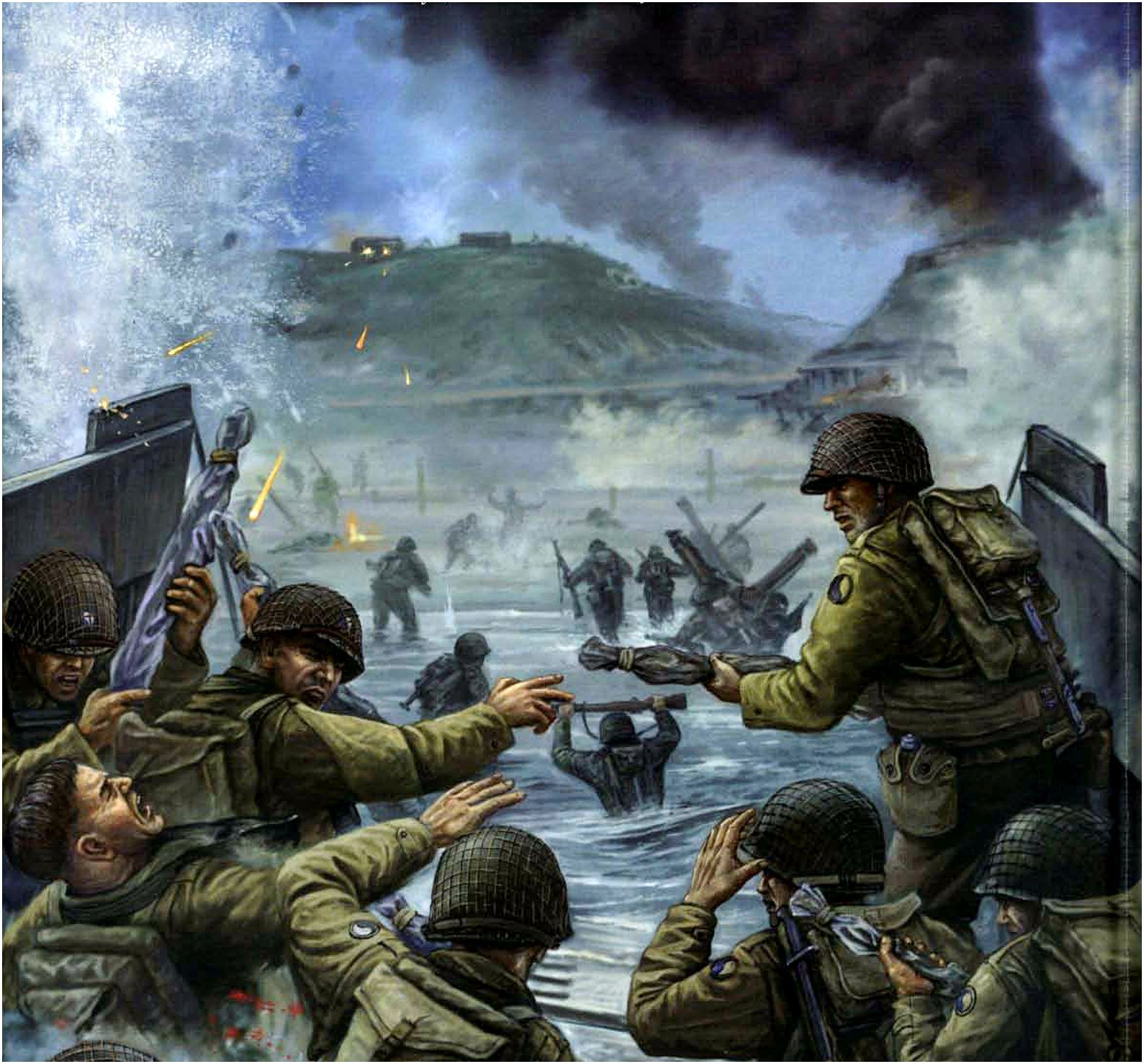 U.S.ARMY - Fucilieri della 29th Infantry Division sbarca ...