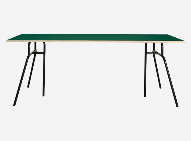 Mf0699 - Table top, Apart, hunter green, 120x58x1.5 cm