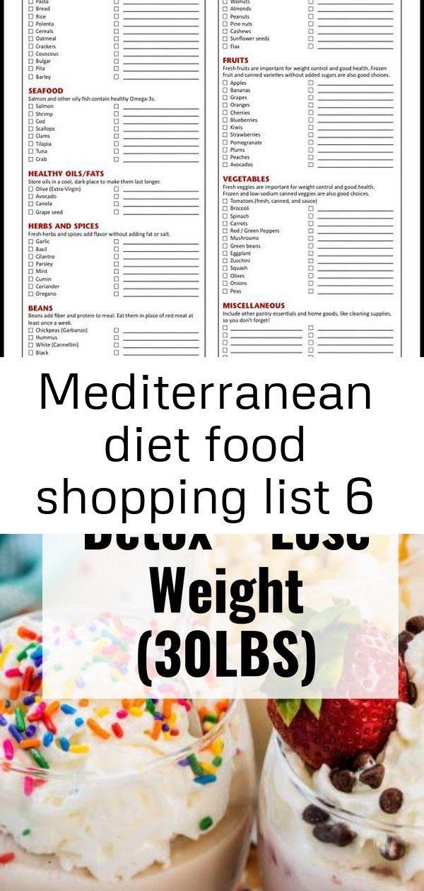 Mediterranean Diet Food Shopping List Hcg 30 Day Weight Loss #LateNightSnacks what-is-the-mediterran...