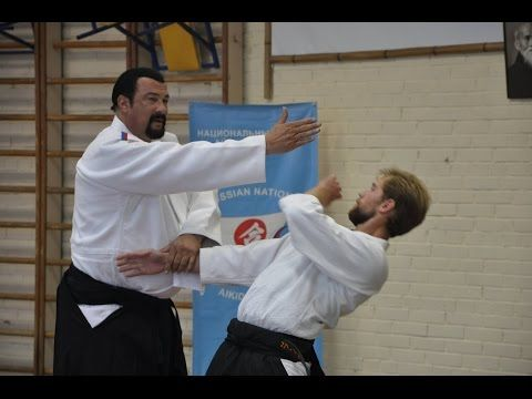 Steven Seagal Aikido Master Class In Moscow University  Youtube