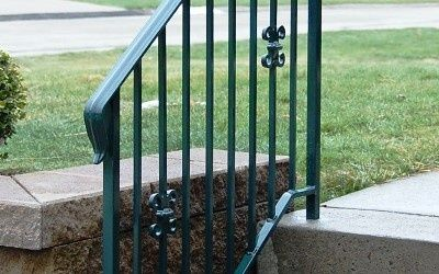 I Like The Railing Matching Trim Color Of House Wrought Iron