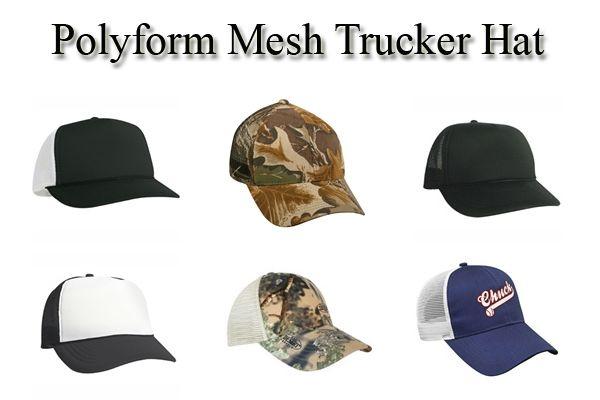 Polyform Mesh Trucker http://www.capstoyou.com/Custom-Embroidered