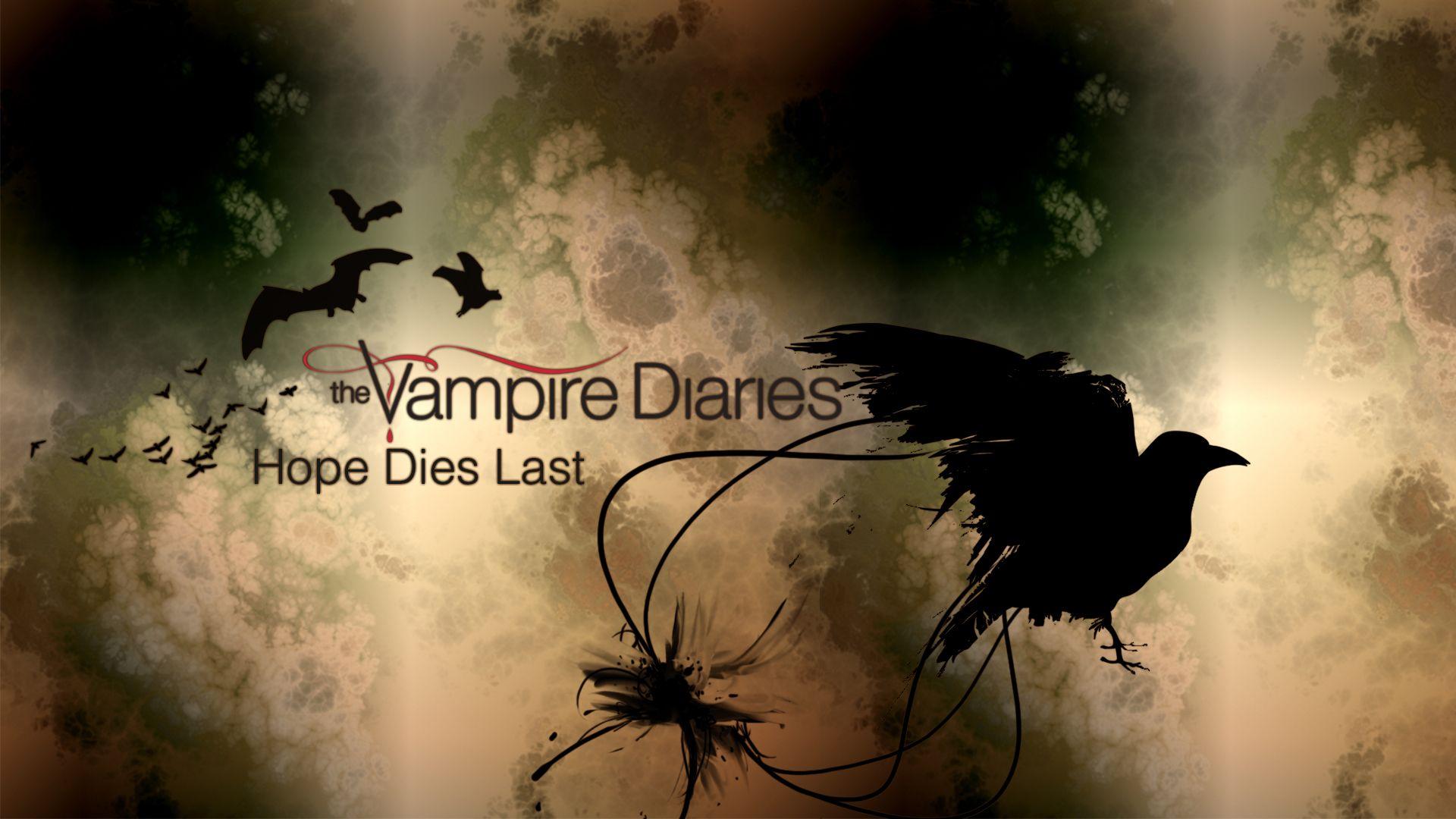 hope dies last The vampire Diaries ! Pinterest