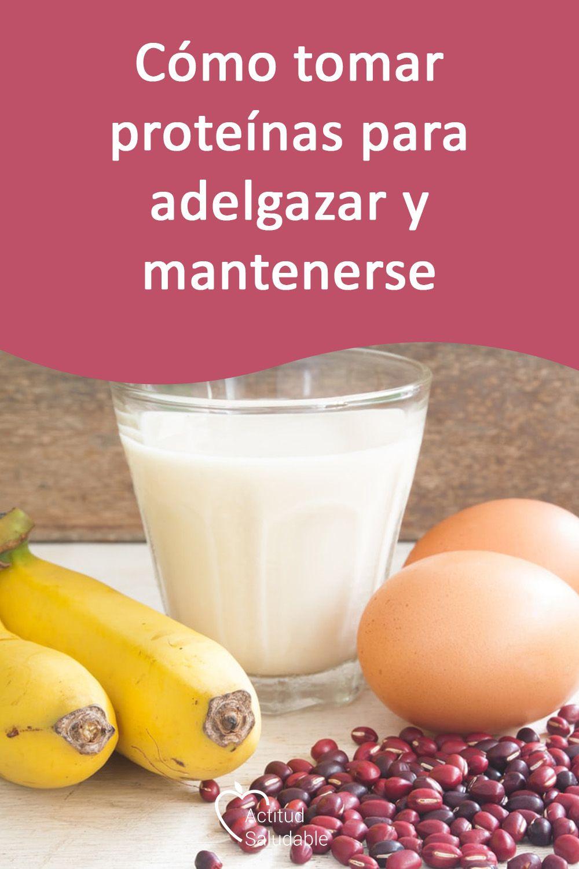 Dietas batidos proteicos para adelgazar