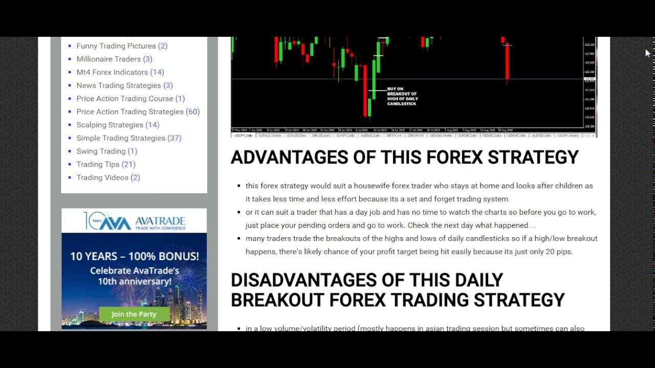 20 Pips A Day Forex Strategy Makes Money Faster How To Make