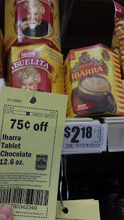 Melissas Coupon Bargains HEB Chocolate Ibarra 86ea