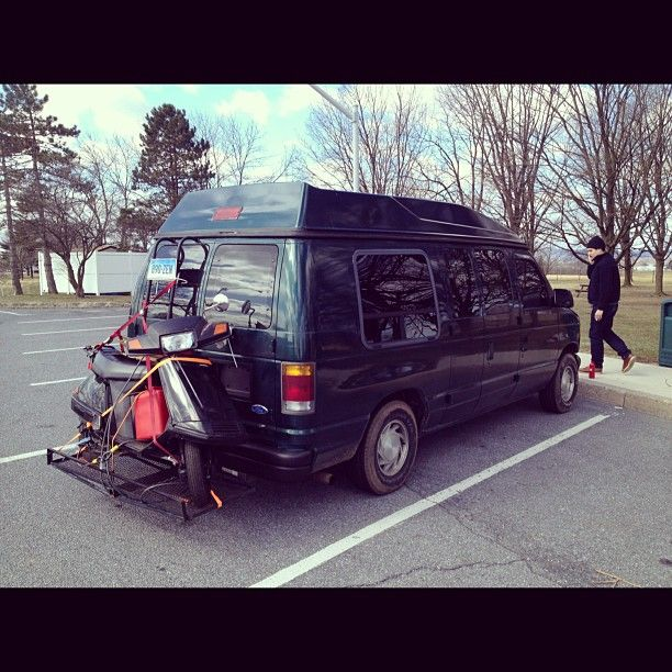 94 Ford E150 Conversion Van Road Trip Get Away Vehicle My