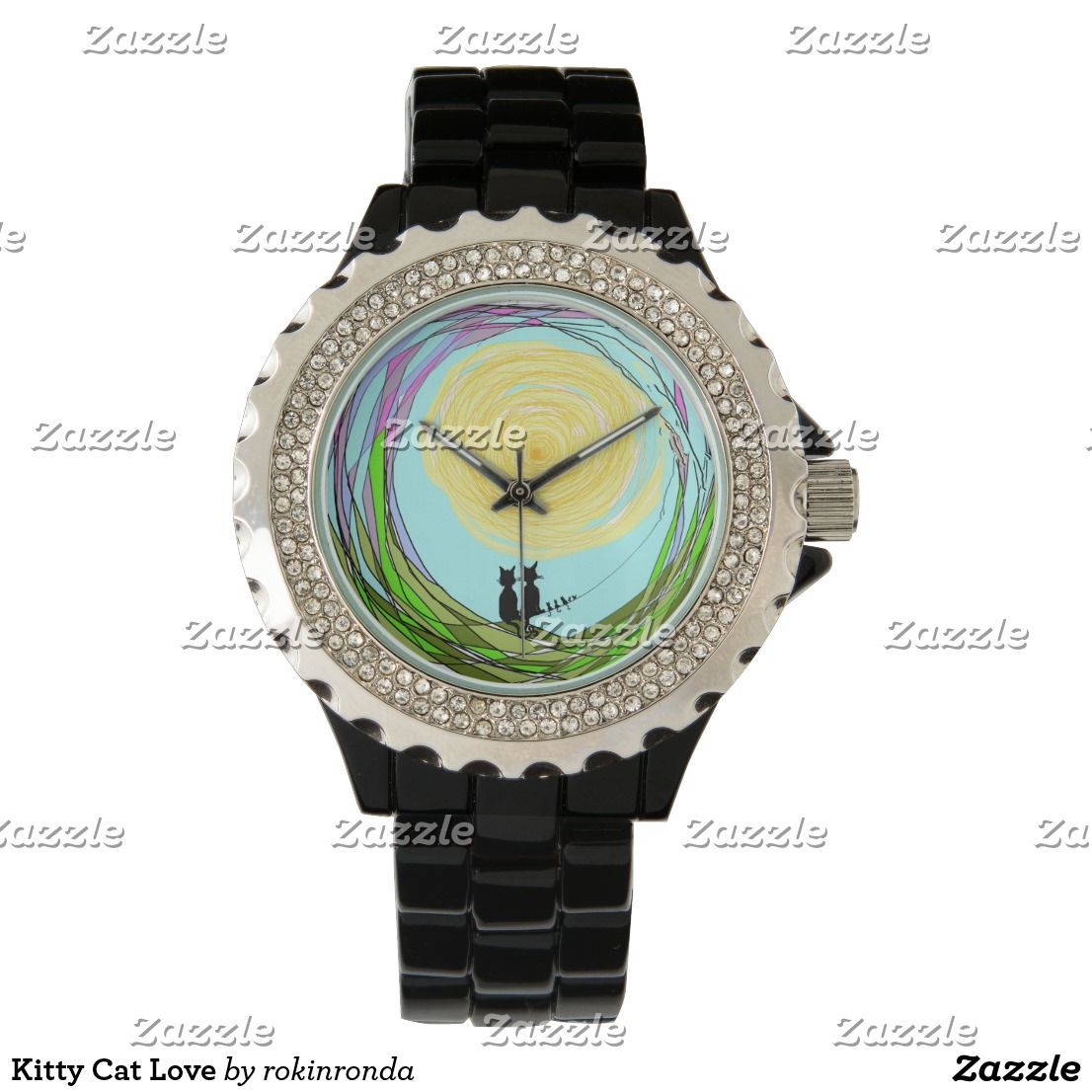 Kitty Cat Love Wristwatches