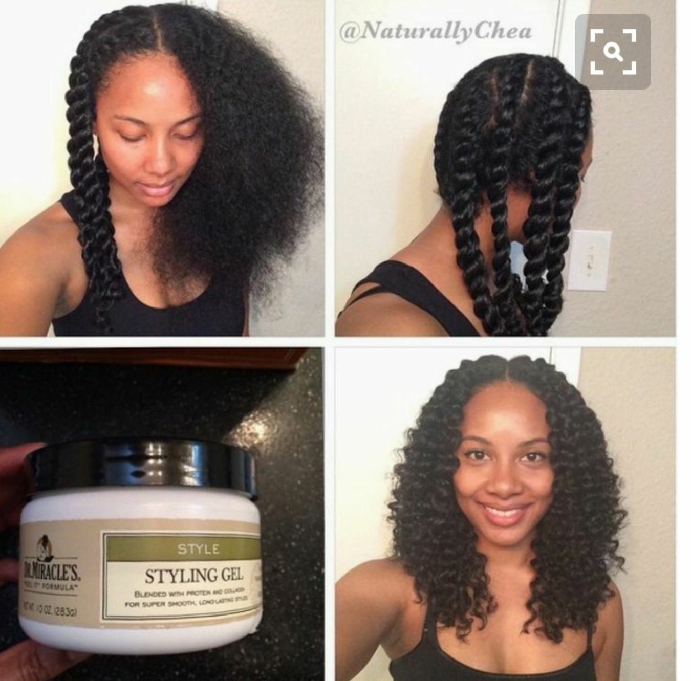 Gorgeous Hairstyles For Long Hair Part 1 Natural Hair Twists