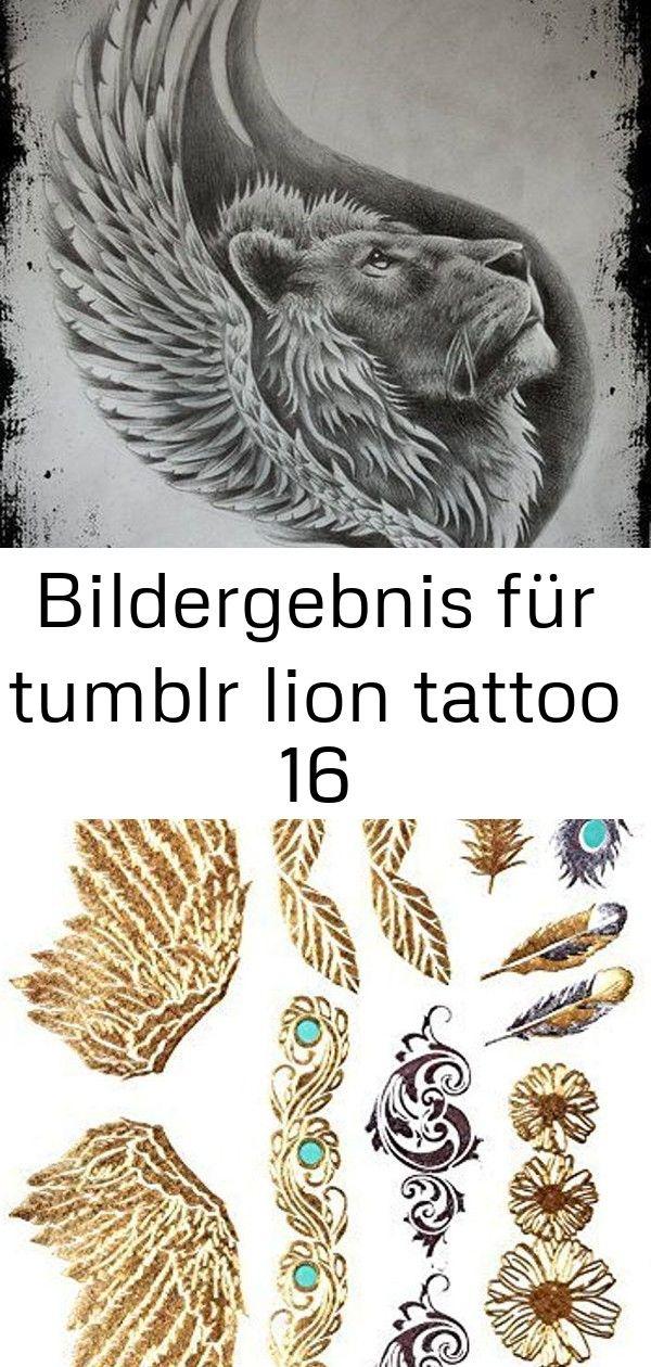 Bildergebnis für tumblr lion tattoo 16 Bildergebnis für tumblr lion tattoo GOLD Tattoo Flash Tattoos Haut Tattoos Flügel Federn Ornamente toller Haut Schm...