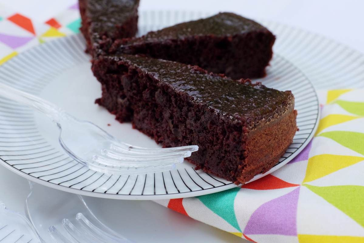 Beetroot Chocolate Pie