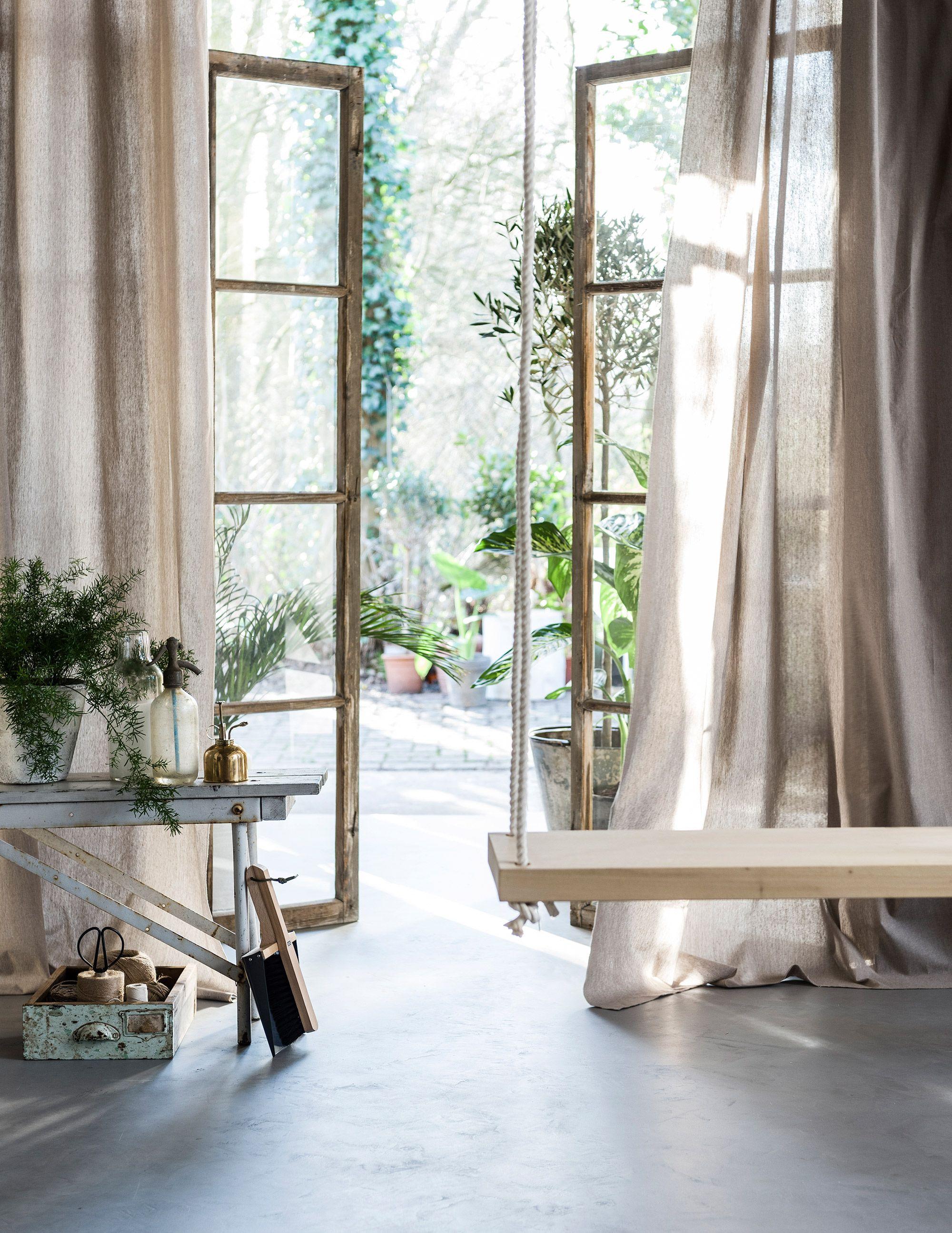 stappenplan gordijnen vtwonen ramen interieurstyling interieurontwerp aards home decor moodboards rustiek