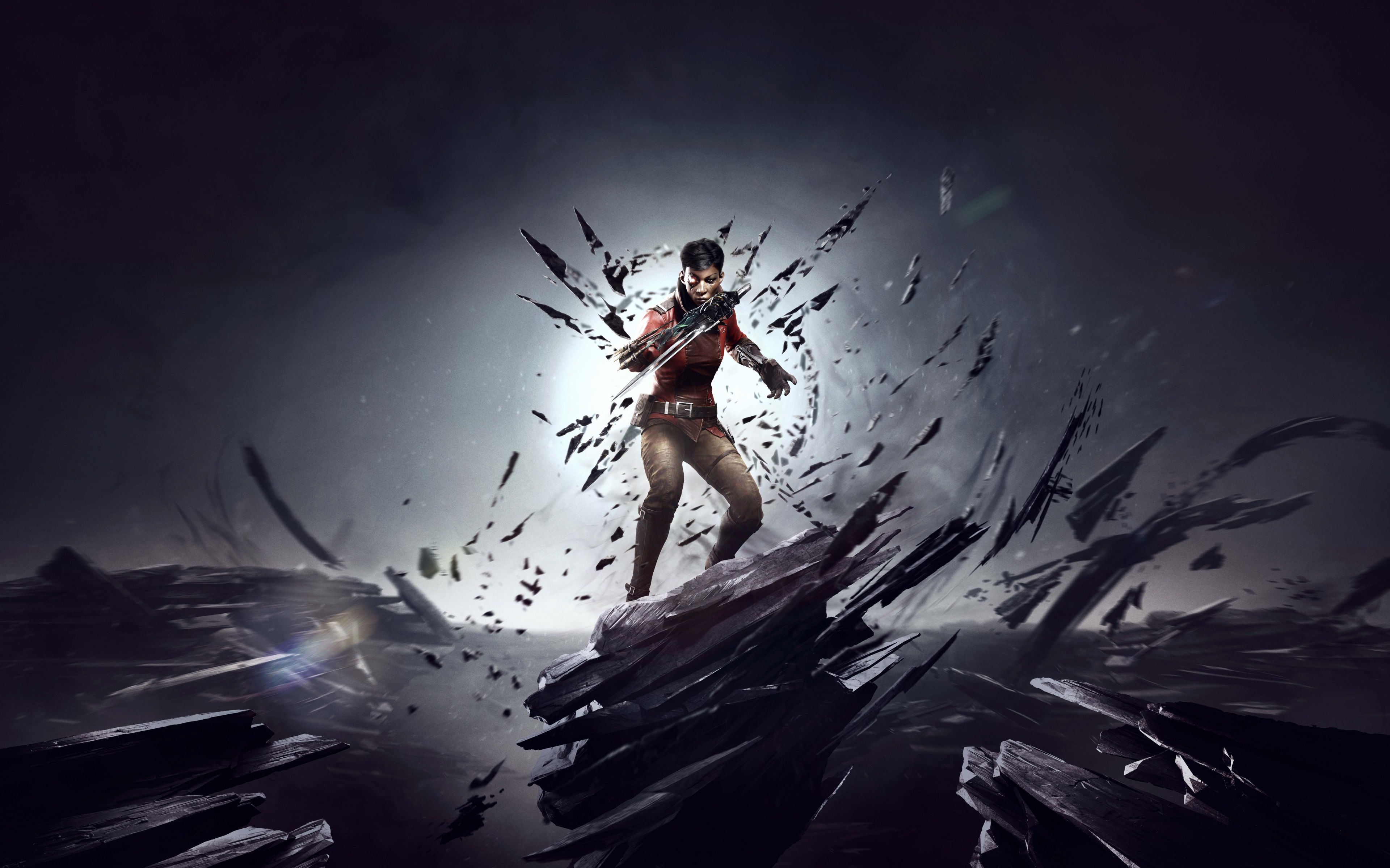 3840x2400 dishonored death of the outsider 4k high quality wallpaper