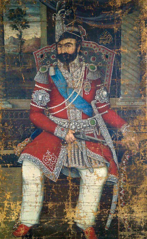 249 Best قاجاریه Images Iranian Art Islamic Art Art
