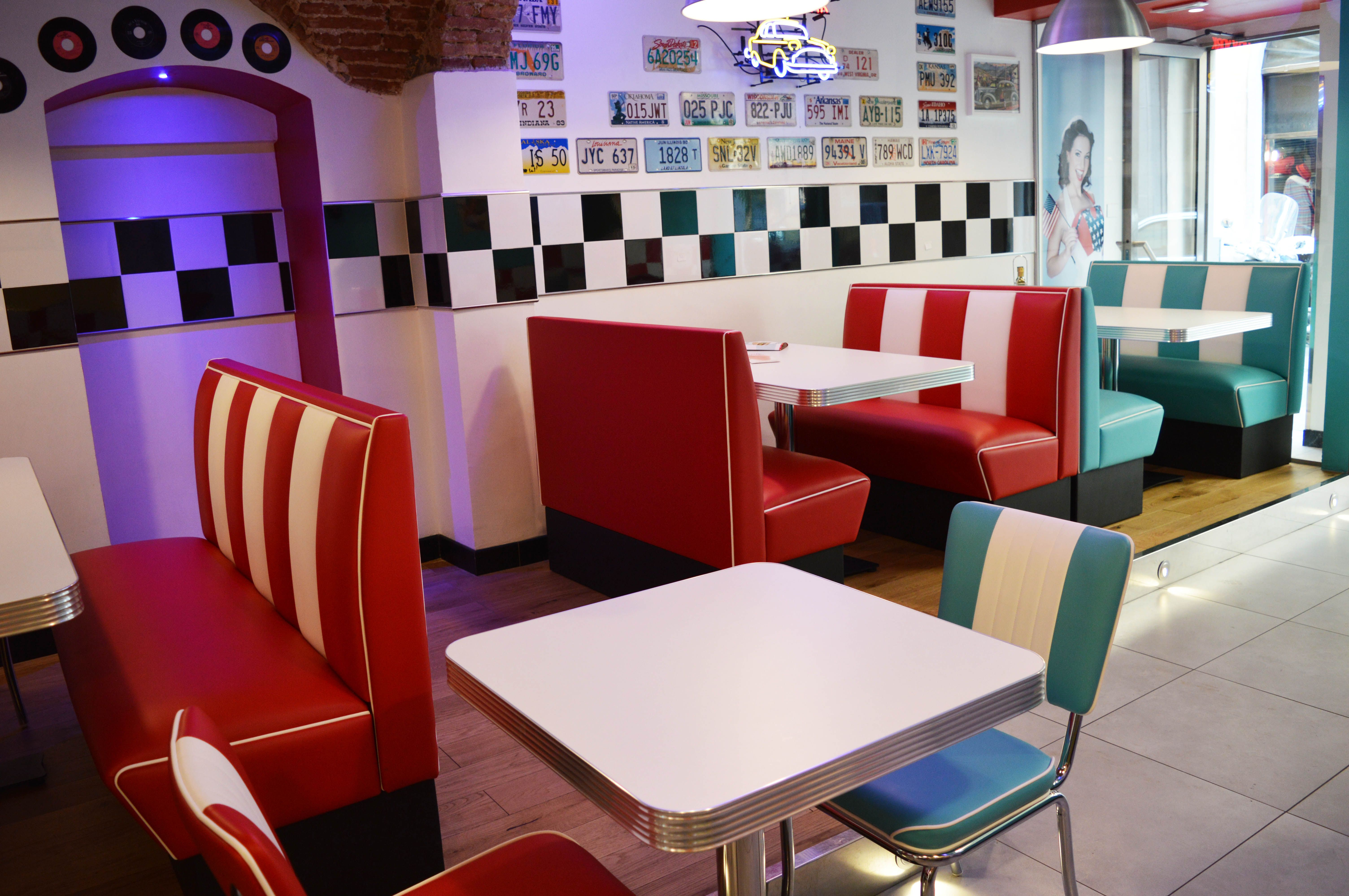 Arredo annni 50 lusima arredamento americano anni 50 for Arredamento fast food