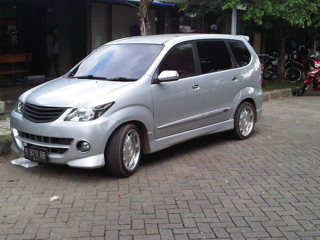Modifikasi Mobil Avanza Warna Silver Modifikasi Mobil Mobil Daihatsu