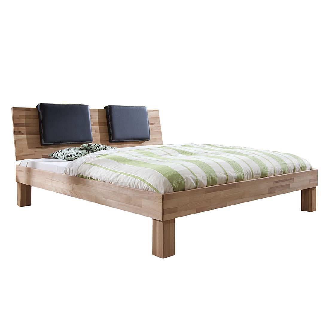 Schlafzimmer Komplett Bett 160x200 Massivholzbett Max Optional Bettkaesten Betten Pinterest