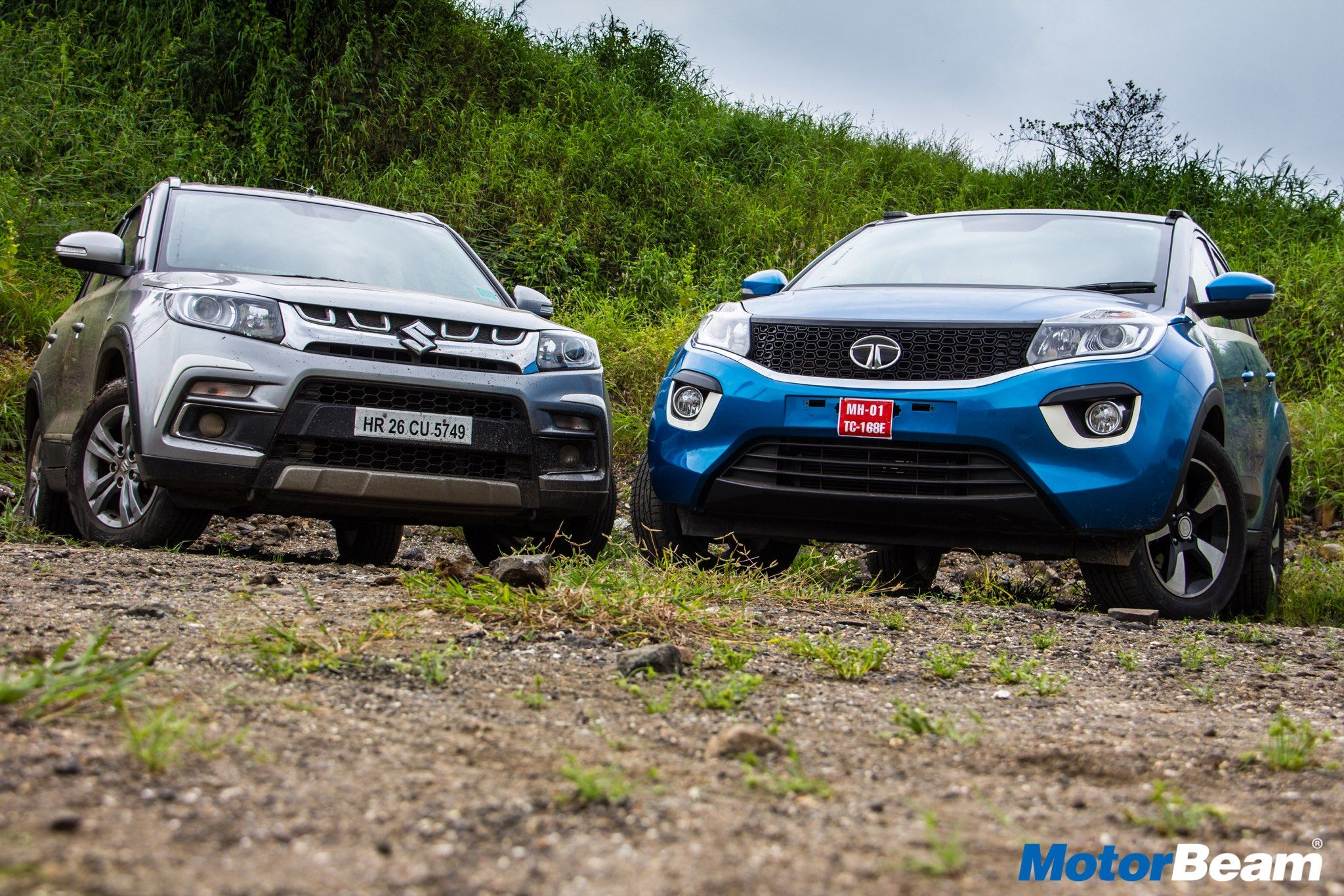 Tata Nexon Vs Maruti Vitara Brezza Comparison Review Bike News Bmw Car Toy Car