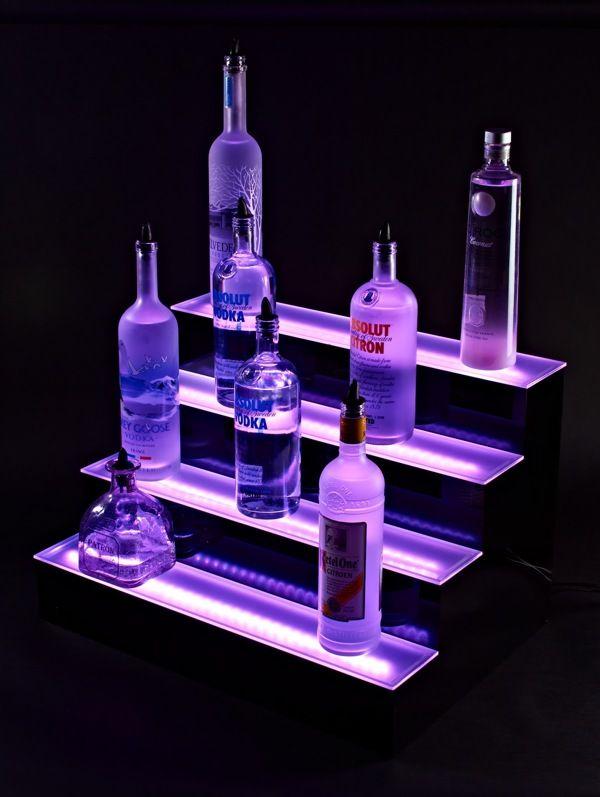 LED Liquor Shelves Display on Behance