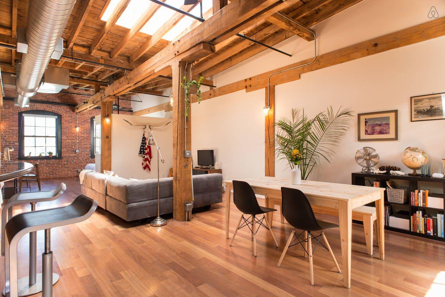 Modern Brick Loft in Davis Square | Furniture | Pinterest | Brick ... | furniture davis square