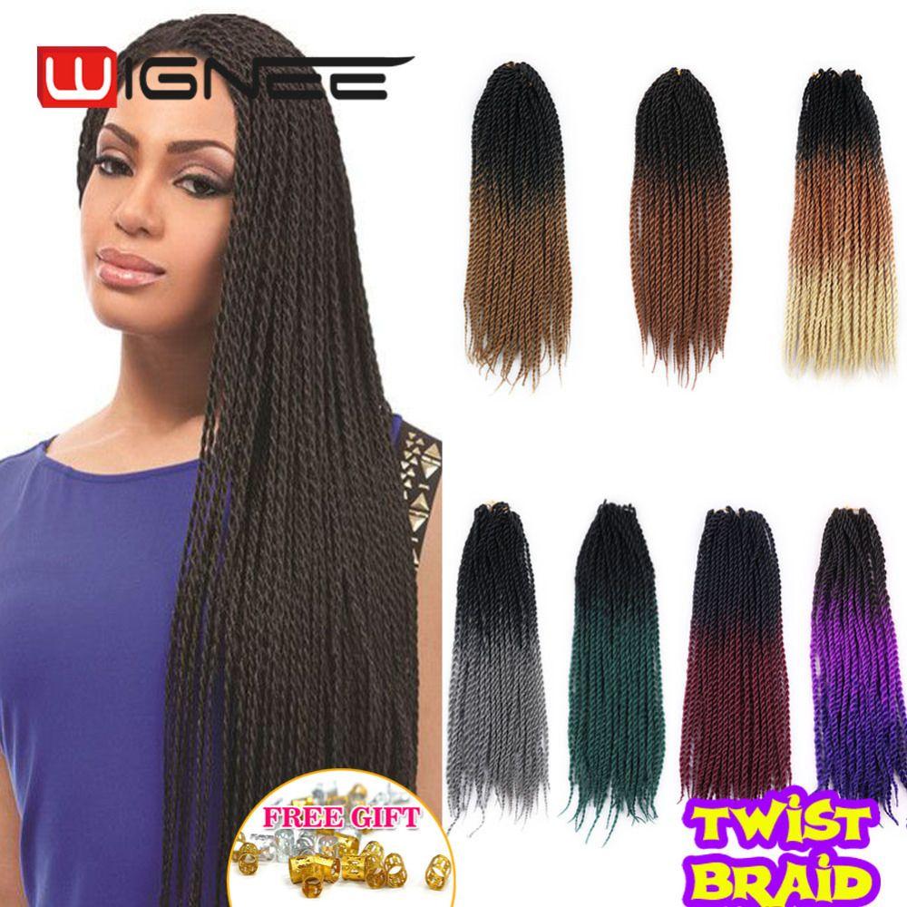 Crochet Hair Havana Mambo Twist Braids Hair 22 Inch 100gram