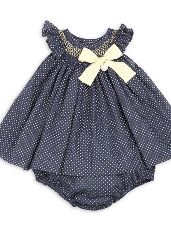 vestido bebe jesusito con ranita marino y nido amarillo Rochy | Ropa ...