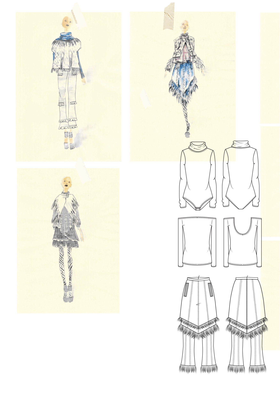 Broken Reflections Artsthread Fashion Design Portfolio Fashion Sketchbook Fashion Collage