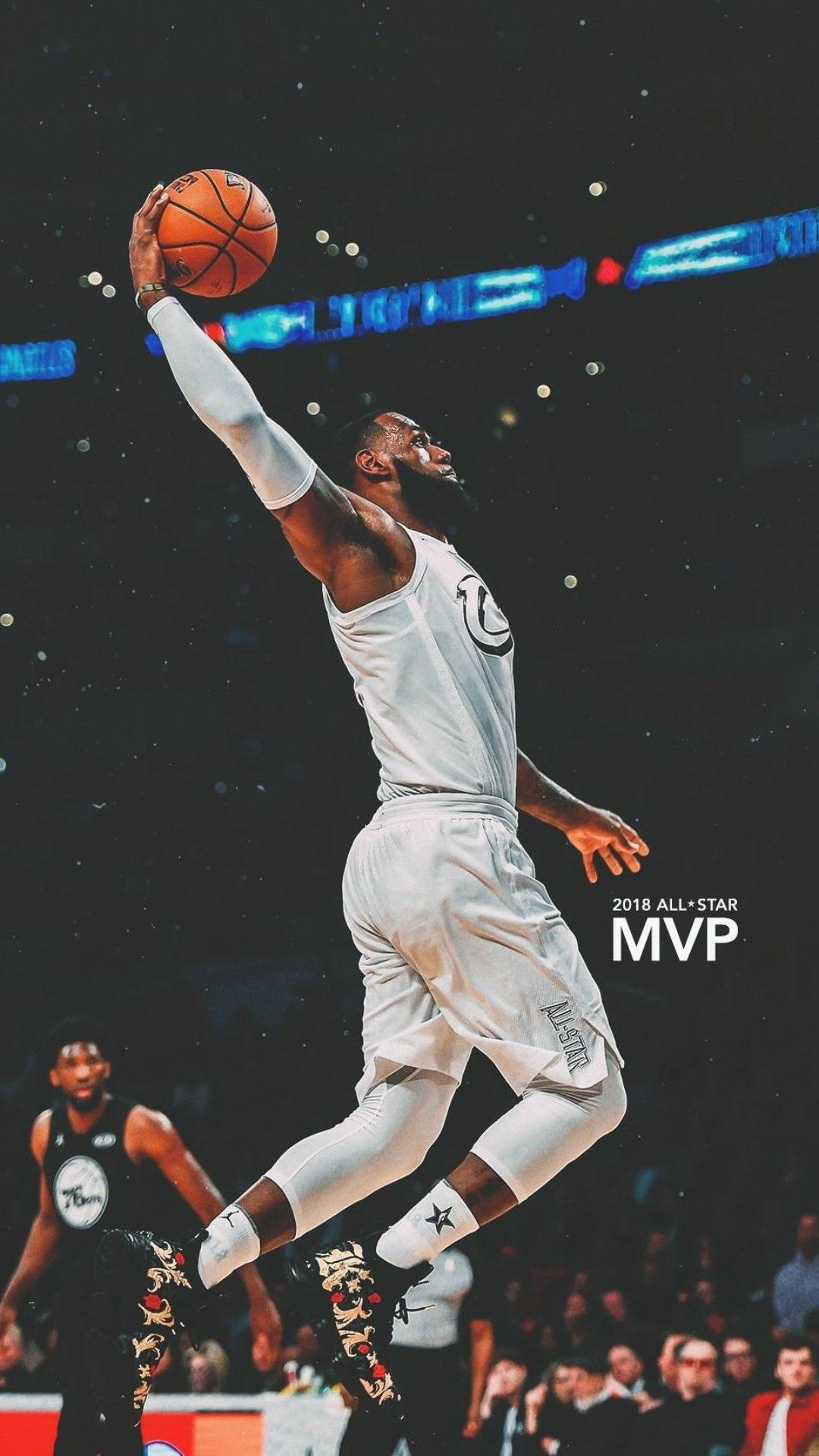 Lebron James All Star MVP Wallpaper