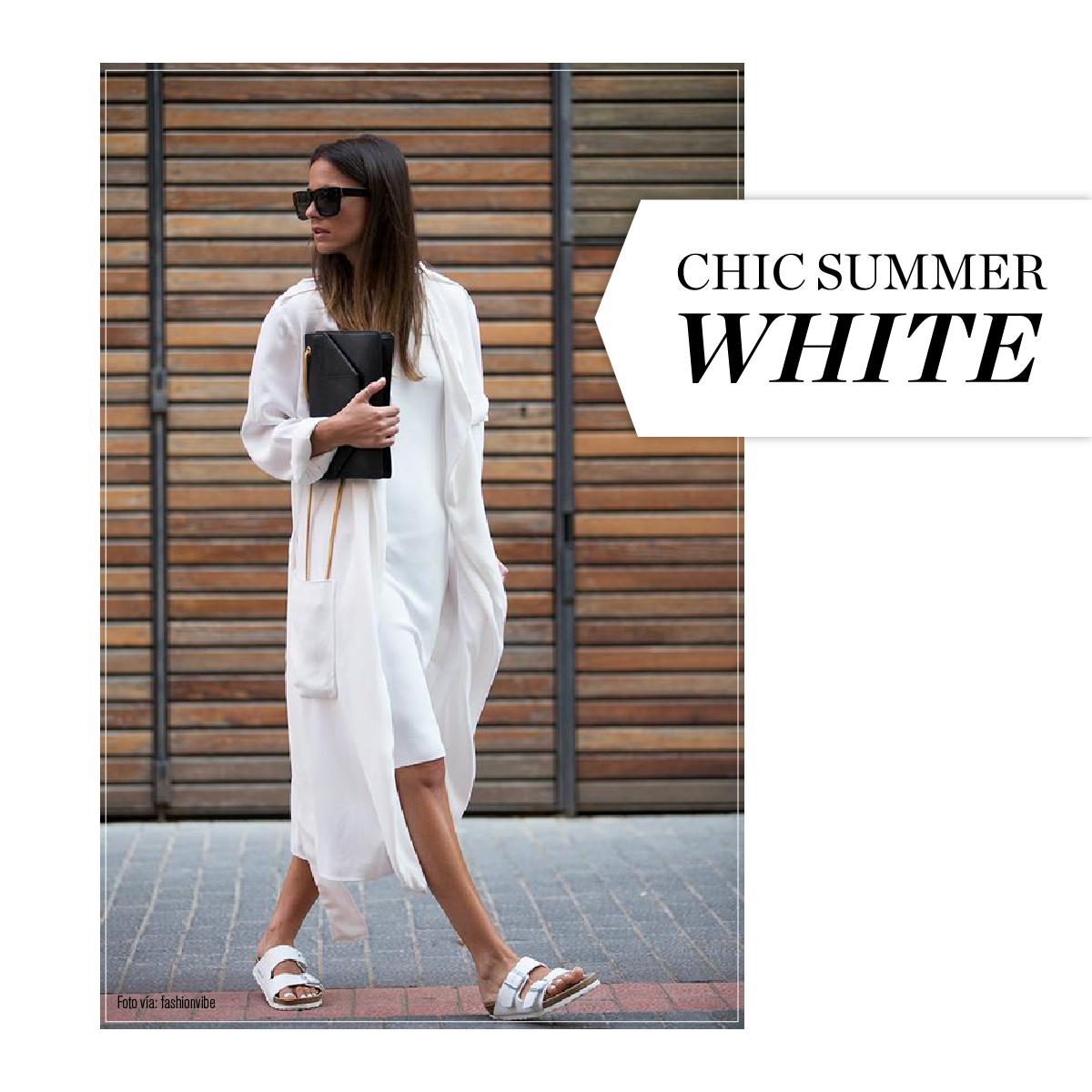 """Blog Le Style NAF NAF. Artículo """"Qué ponerse: Chic Summer White"""" http://blog.nafnaf.com.co/content/qu%C3%A9-ponerse-chic-summer-white"""