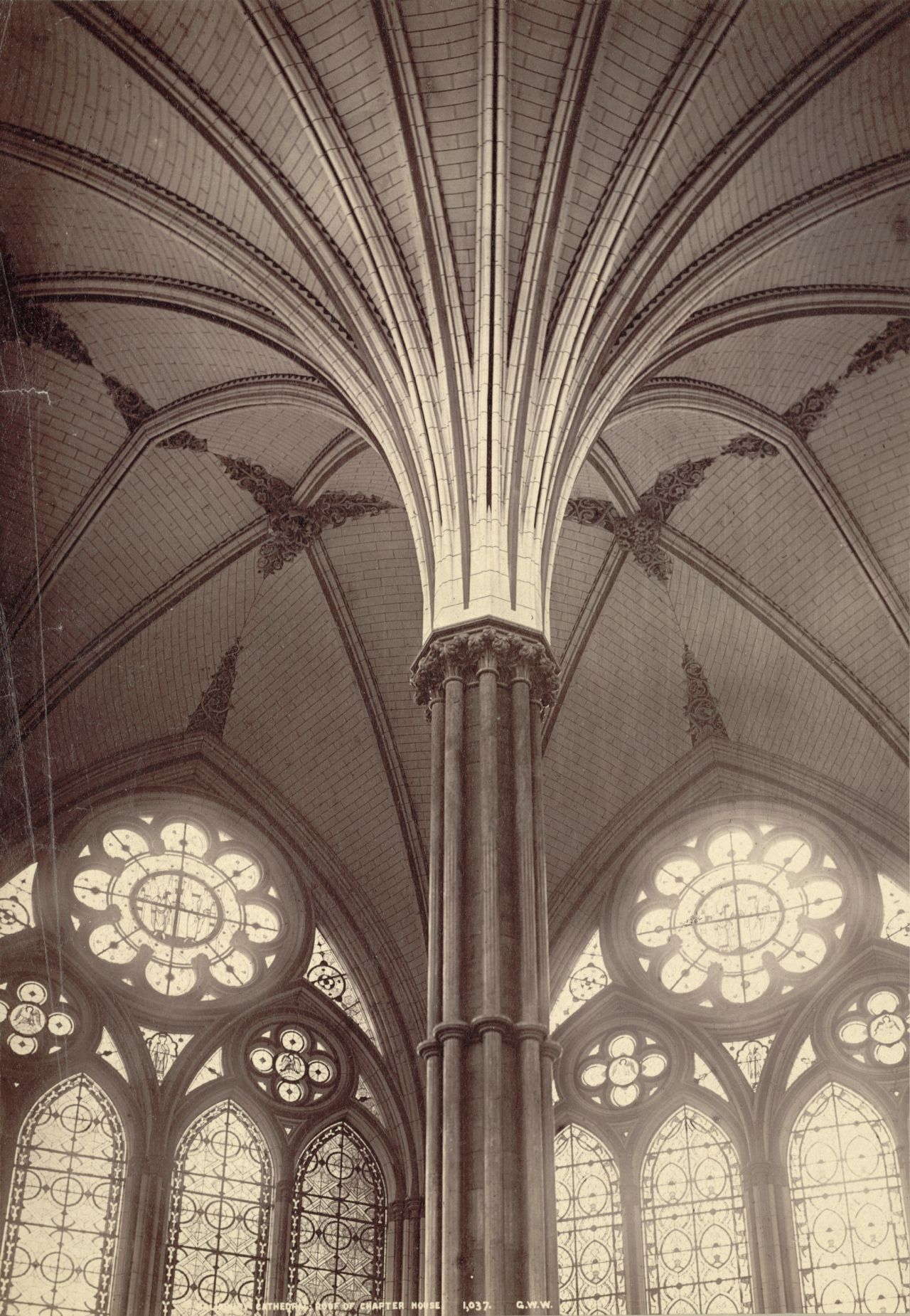Different Architectural Styles Exterior House Designs: Inside The Chapter House At Salisbury Cathedral
