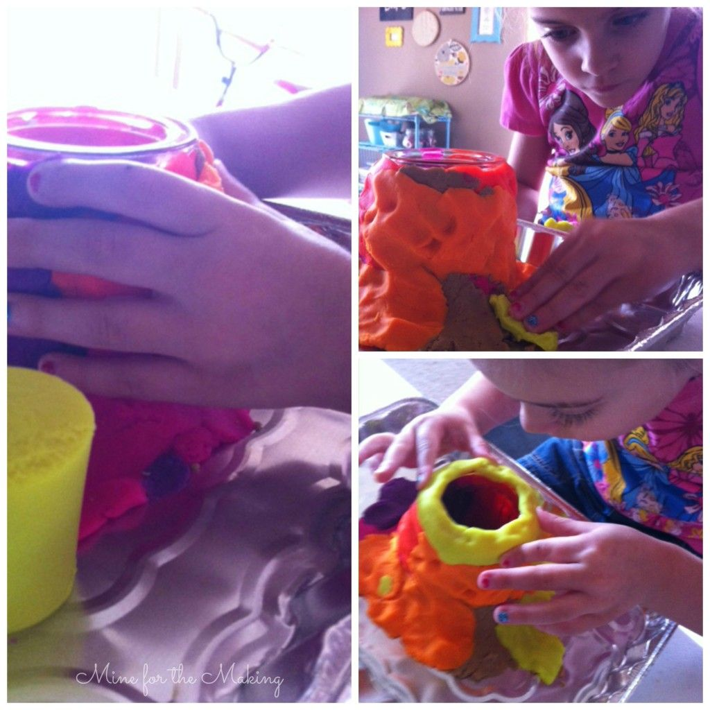 Summer Fun Camp Play Doh Volcano Experiment A Giveaway