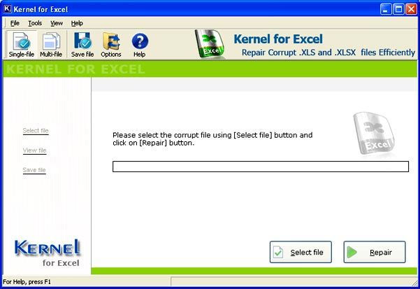 Corrupted Damaged Excel File Repair Software Tool With Images