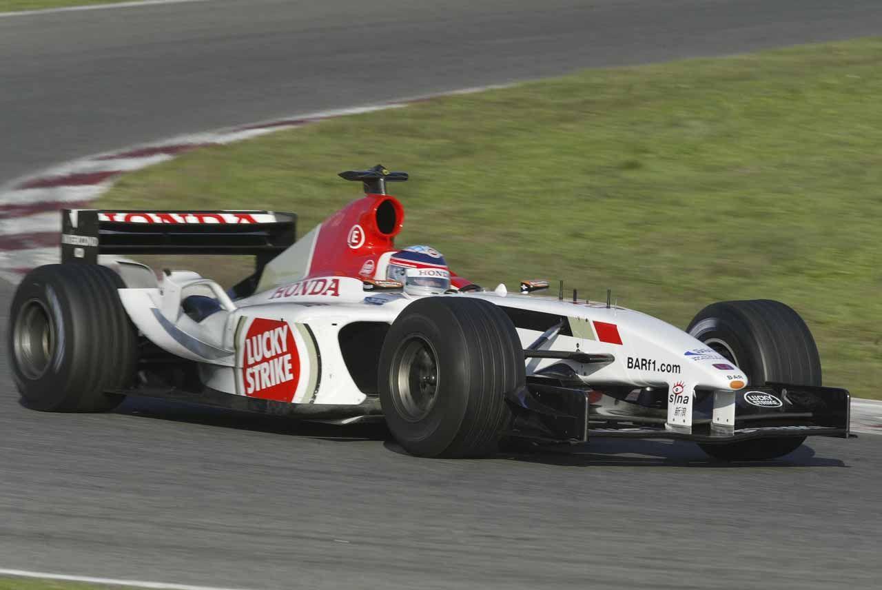 2003 Barcelona Lucky Strike B A R 005 Takuma Sato