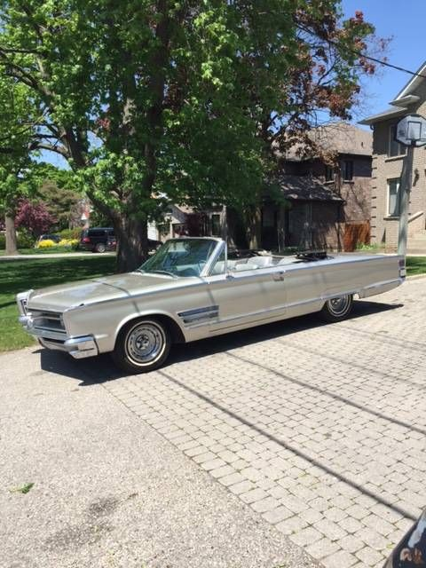 1966 Chrysler 300 Convertible With Bucket Seats And Console Chrysler 300 Chrysler 300 Convertible Chrysler