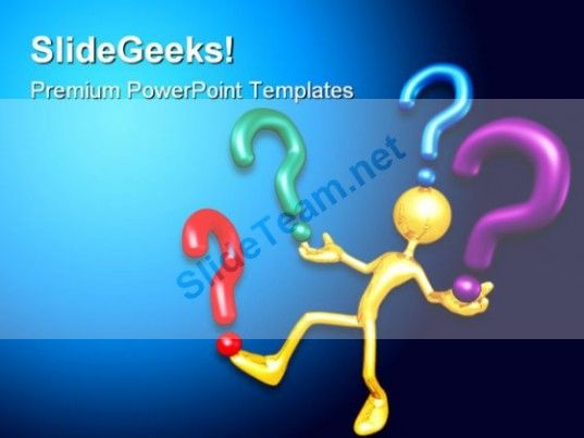 Question Future PowerPoint Template 1010 #PowerPoint #Templates - science powerpoint template