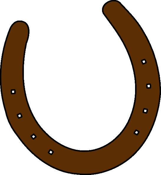 cowboy clip art cowboy brown horseshoe clip art vector clip art rh pinterest co uk