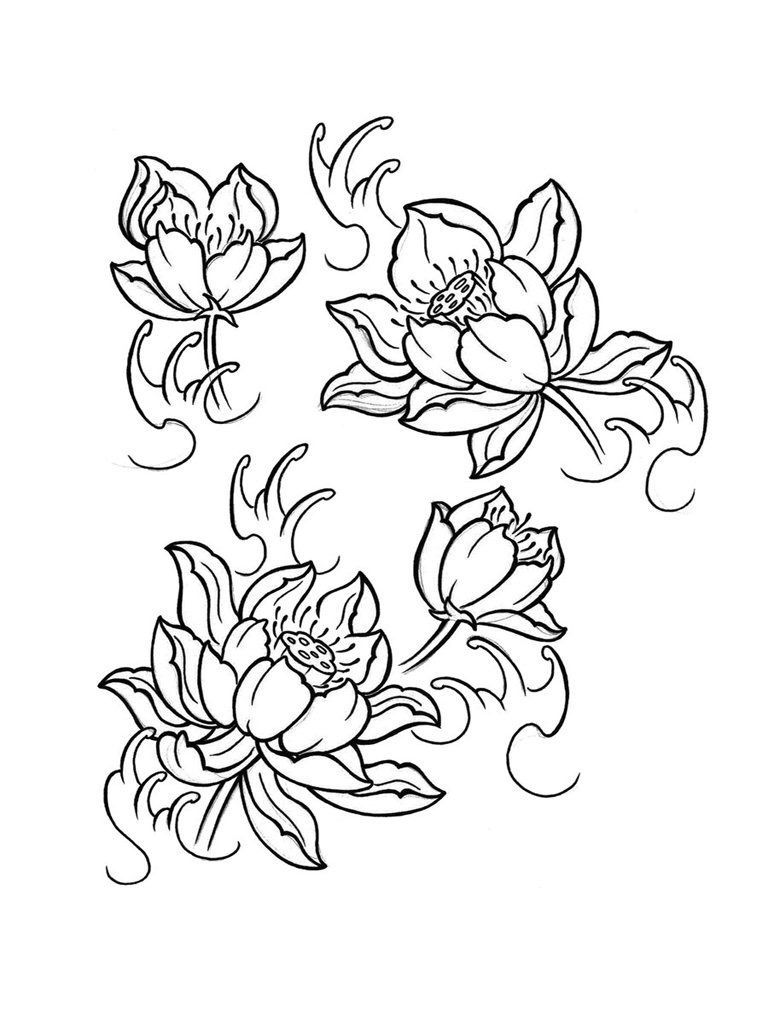 Pin By Turbo Tattoo Studio On Tattoo Flower Design Pinterest