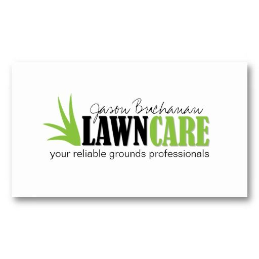 lawncare business cards