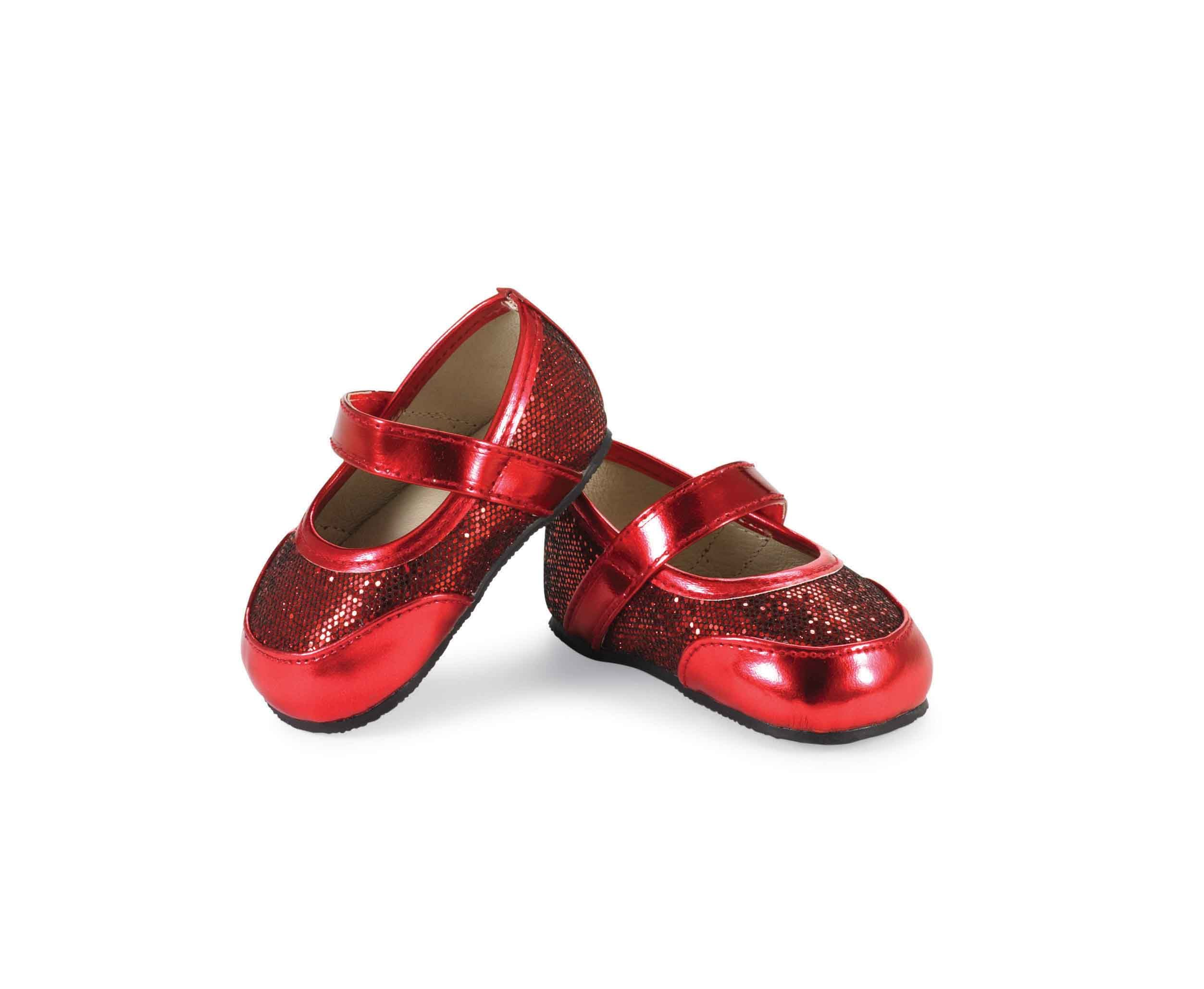 RED MARY JANES $29.00