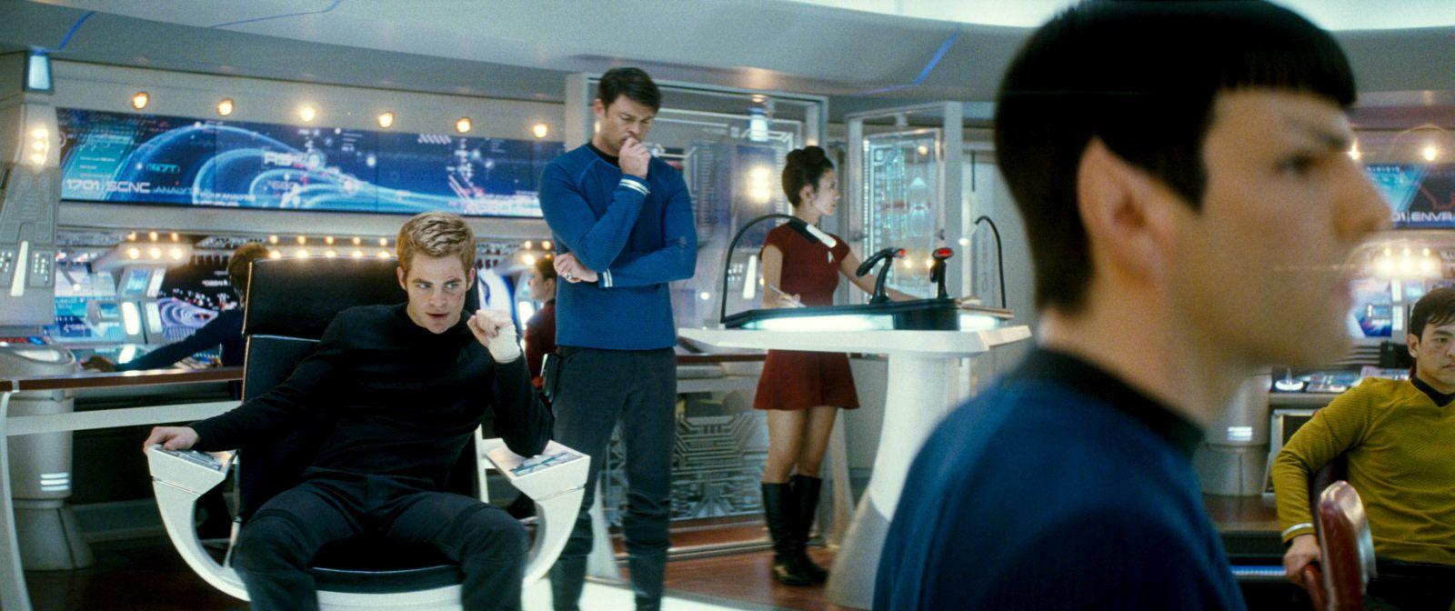 Ex Astris Scientia The New Enterprise Design Star Trek Bridge