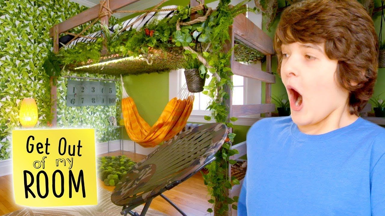 Jungle Paradise Dream Bedroom Makeover Get Out Of My Room