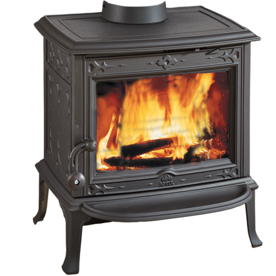 Jotul F 100 Nordic Qt Cf Small Clean Face Wood Stove With