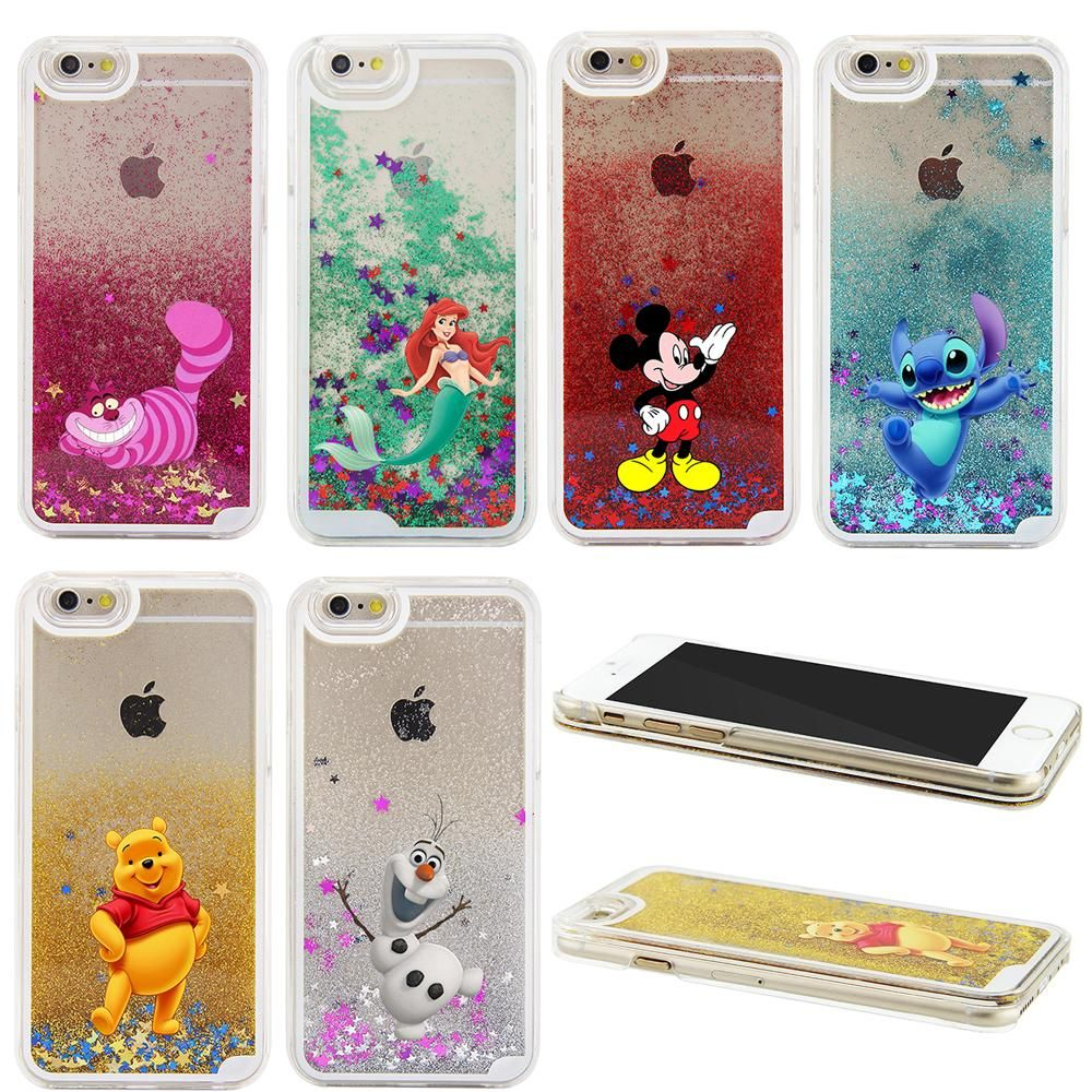 coque iphone 8 plus disney liquide