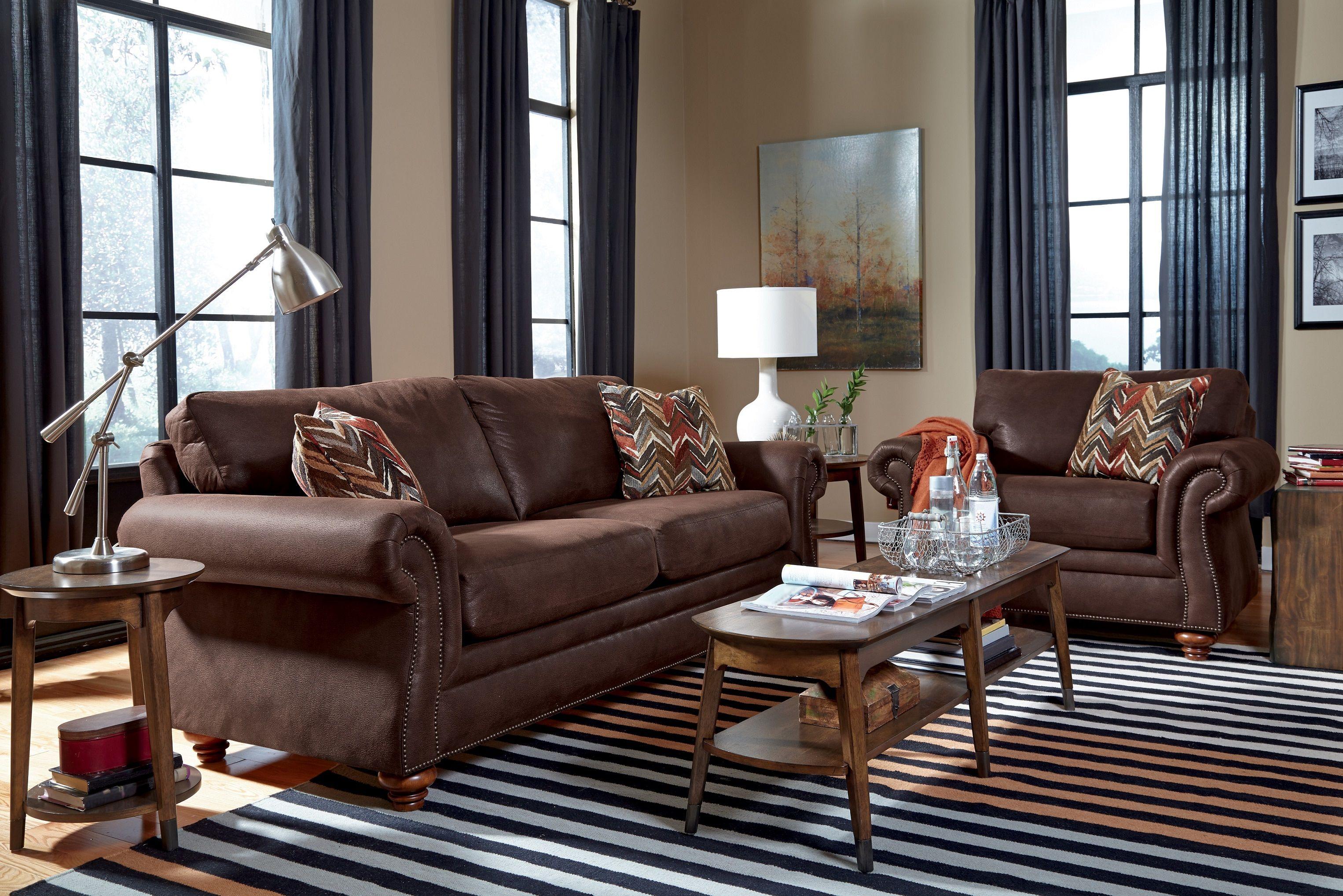 Dexter Drummond Living Room Set By Flexsteel At Crowley Furniture In