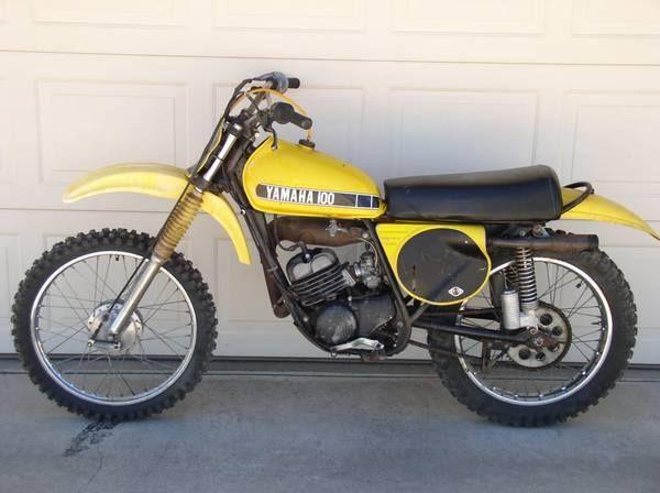 1974 Yamaha Mx100a Vintage Motocross Classic Bikes Racing Motorcycles