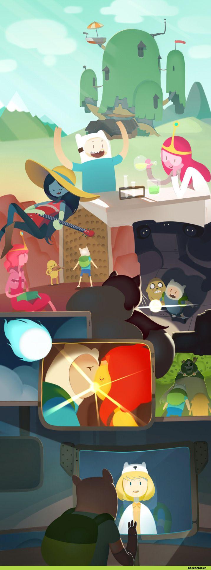 Doctor Minerva Adventure Time время приключений фэндомы