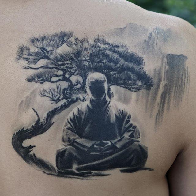 Zen Master Anatolenyc Tattoos Pinterest Tatouage Tatouage