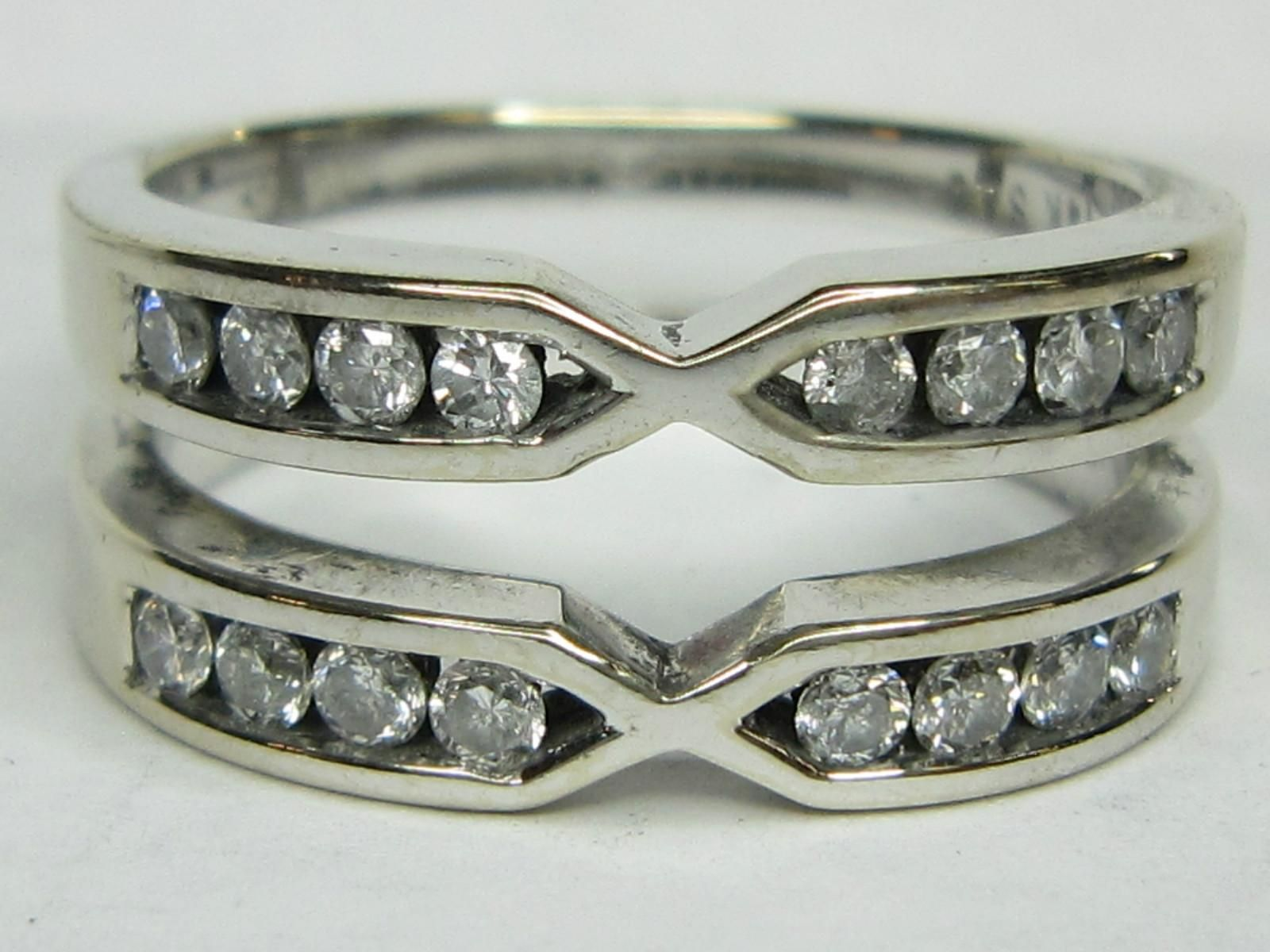 Engagement Ring Jacket Band With Opening 48
